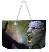 Jake Sully - Sam Worthington - Red-cyan 3d Glasses Required Weekender Tote Bag