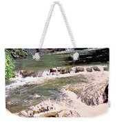 Jamaica Rushing Water Weekender Tote Bag