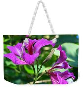 Jamaican Bloom Photograph   Weekender Tote Bag