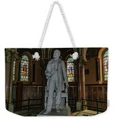 James A. Garfield Statue Weekender Tote Bag