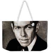 James Coburn, Vintage Actor Weekender Tote Bag