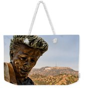 James Dean - Griffith Observatory Weekender Tote Bag