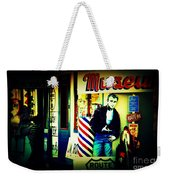 James Dean On Route 66 Weekender Tote Bag by Susanne Van Hulst