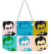 James Dean Pop Art Weekender Tote Bag