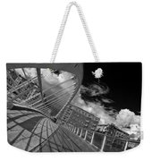 James Joyce Bridge 2 Bw Weekender Tote Bag