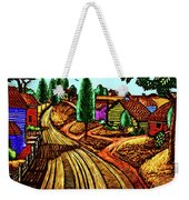 James Lesesne Wells' Farmlands Weekender Tote Bag