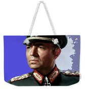 James Mason As Erwin Rommel Publicity Photo The Desert Fox 1951 Color Added 2016 Weekender Tote Bag