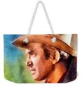 James Stewart, Vintage Hollywood Legend Weekender Tote Bag