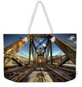 James Street Swing Bridge Weekender Tote Bag
