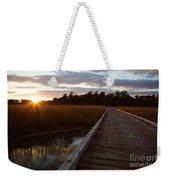 Jamestown Forest Loop Sunset Weekender Tote Bag