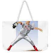 Jamie Moyer Weekender Tote Bag