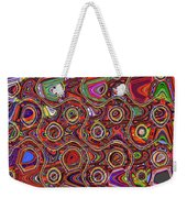 Janca Abstract Panel #097e10 Weekender Tote Bag