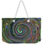 Janca Abstract Panel #5473w4 Weekender Tote Bag