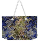 Janca Color Panel Abstract #5687 Et1b Weekender Tote Bag