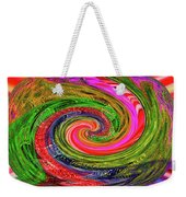 Janca Colors Panel Abstract # 5212 Wtw7abc Weekender Tote Bag
