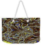 Janca Oval Abstract 4917 W3a Weekender Tote Bag