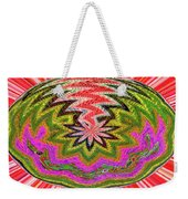Janca Pink Color Panel Abstract #5212 Wtw6 Weekender Tote Bag