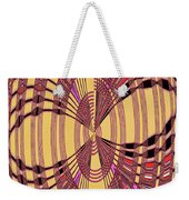 Janca Red And Yellow Abstract  Weekender Tote Bag