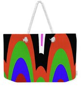 Jancart Drawing Abstract #8455pc Weekender Tote Bag