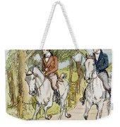 Jane Austen: Illustration Weekender Tote Bag