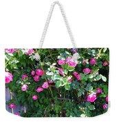 Jane's Rose Bush Weekender Tote Bag