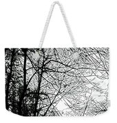 January Beauty 2 Black And White  Weekender Tote Bag