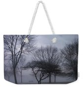 January Fog 6 Weekender Tote Bag
