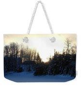 January Winter Morninng Weekender Tote Bag