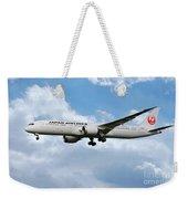 Japan Airlines Boeing 787 Dreamliner Weekender Tote Bag