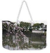 Japan Cherry Tree Blossom Weekender Tote Bag