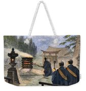 Japan: Cremation, 1890 Weekender Tote Bag