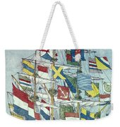 Japan: Dutch Ship Weekender Tote Bag