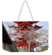 Japan Itsukushima Temple Weekender Tote Bag