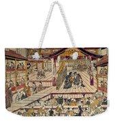 Japan: Kabuki Theater Weekender Tote Bag