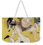 Japan: Sumo Wrestling Weekender Tote Bag