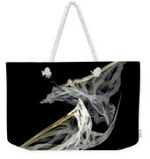 Japanese Aikido Warriors Weekender Tote Bag by Ed Churchill