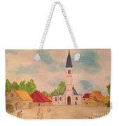 Japanese Artistic Light Of Esaias Van De Velde Weekender Tote Bag
