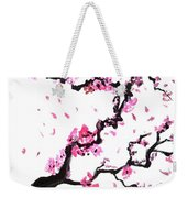 Japanese Cherry Blossoms Weekender Tote Bag