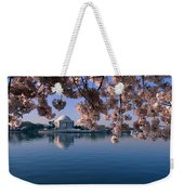 Japanese Cherry Blossoms Prunus Weekender Tote Bag