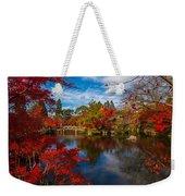 Japanese Foliage Weekender Tote Bag