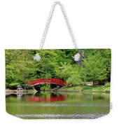 Japanese Garden Bridge  Weekender Tote Bag