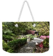 Japanese Garden Path With Azaleas Weekender Tote Bag