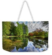 Japanese Garden Pond I Weekender Tote Bag