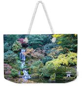 Zen Japanese Garden Weekender Tote Bag