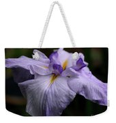 Japanese Iris In Bloom Weekender Tote Bag
