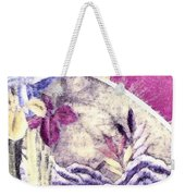 Japanese Iris - Kimono Series Weekender Tote Bag