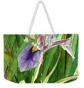 Japanese Iris Weekender Tote Bag