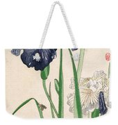 Japanese Irises Weekender Tote Bag