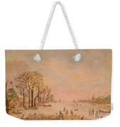 Japanese Light In Remembrance Of Aert Van Der Neer Weekender Tote Bag