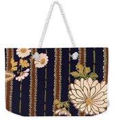 Japanese Maple And Chrysanthemum Modern Interior Art Painting. Weekender Tote Bag